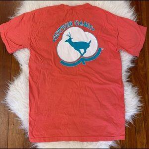 NWOT Orange Southern Comfort Colors T-Shirt S